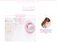 Silver Genesis Child Theme for WordPress via MOJO Marketplace