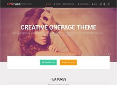 OnePage WordPress Theme by MyThemeShop