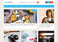 SociallyViral Free WordPress Theme by MyThemeShop