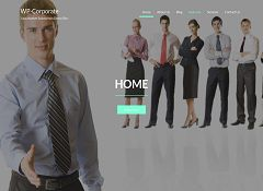 WP-Corporate WordPress Theme by Solostream