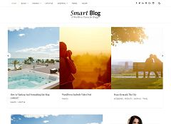 SmartBlog WordPress Theme by Templatic