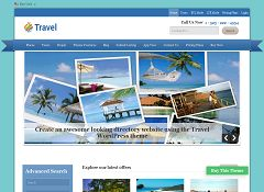 Travel WordPress Theme by Templatic
