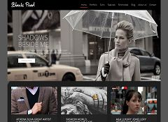 Black Pearl WordPress Theme via ThemeForest
