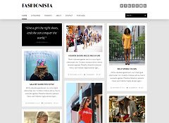 Fashionista WordPress Theme via ThemeForest