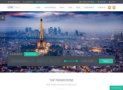Love Travel WordPress Theme via ThemeForest