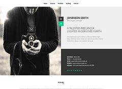 NEW WordPress Theme via ThemeForest