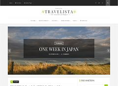 Travelista WordPress Theme via ThemeForest