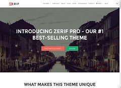 Zerif Pro WordPress Theme by ThemeIsle