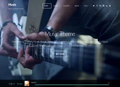 Music WordPress Theme by Themify