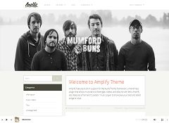 Amplify WordPress Theme by UpThemes