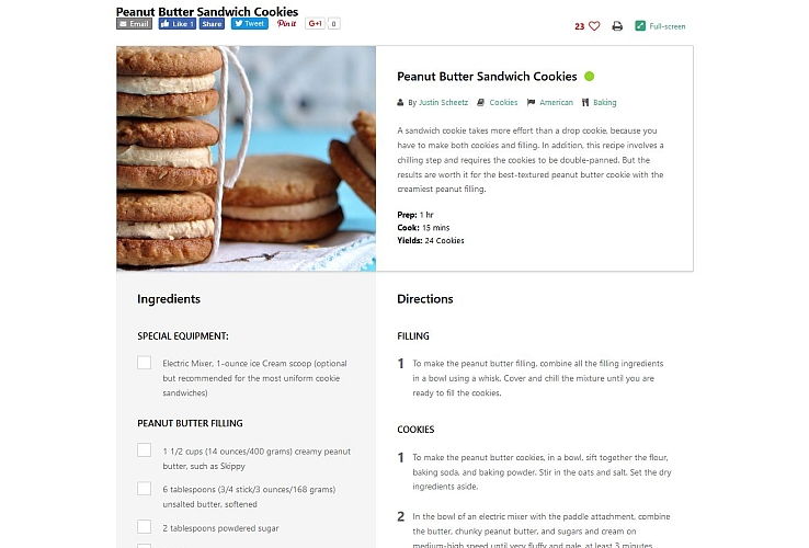 Cooked WordPress Plugin via CodeCanyon