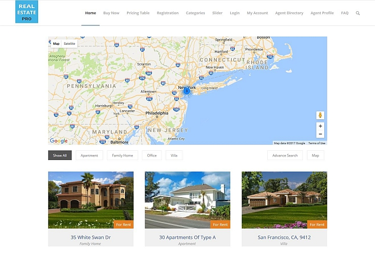 Real Estate Pro WordPress Plugin via CodeCanyon