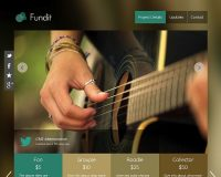 Fundit WordPress Theme via Creative Market