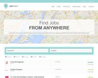JobFinder WordPress Theme via Creative Market