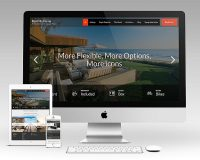 Rent My Home WordPress Theme via Creative Market