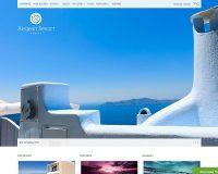 Aegean Resort WordPress Theme by cssigniter