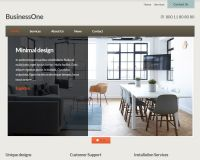 BusinessOne WordPress Theme by cssigniter