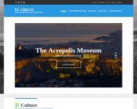 El Greco WordPress Theme by cssigniter