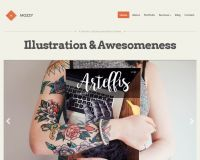 Mozzy WordPress Theme by cssigniter