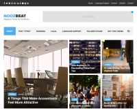 Noozbeat WordPress Theme by cssigniter