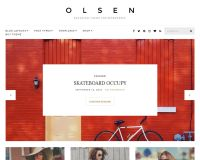 Olsen WordPress Theme by cssigniter