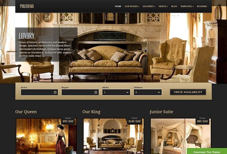 Philoxenia WordPress Theme by cssigniter