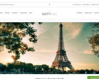 SixtyOne WordPress Theme by cssigniter