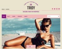 Troy WordPress Theme by cssigniter