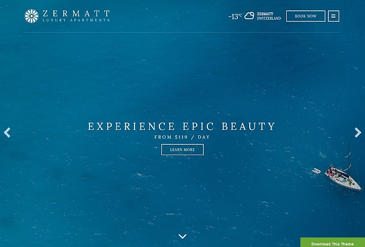 Zermatt WordPress Theme by cssigniter