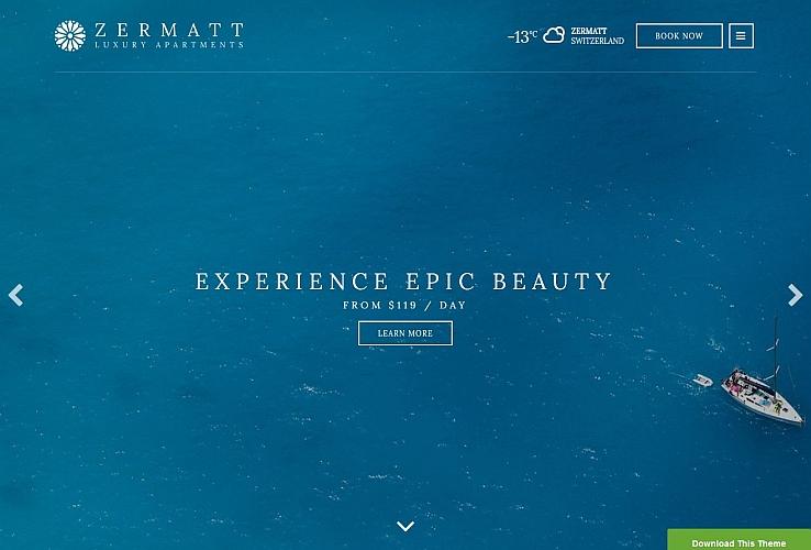 Zermatt WordPress Theme by cssigniter