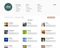 eList WordPress Theme by Elegant Themes