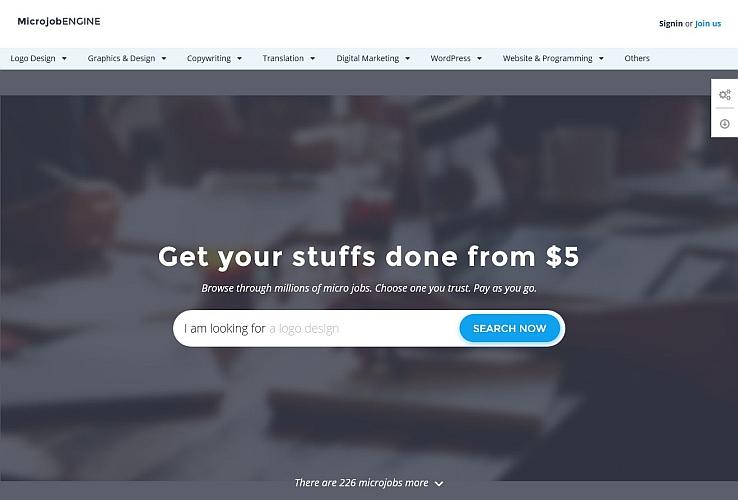 MicrojobEngine WordPress Theme by EngineThemes