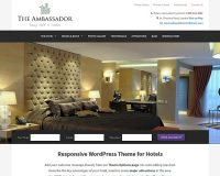 The Ambassador WordPress Theme by Hermes Themes