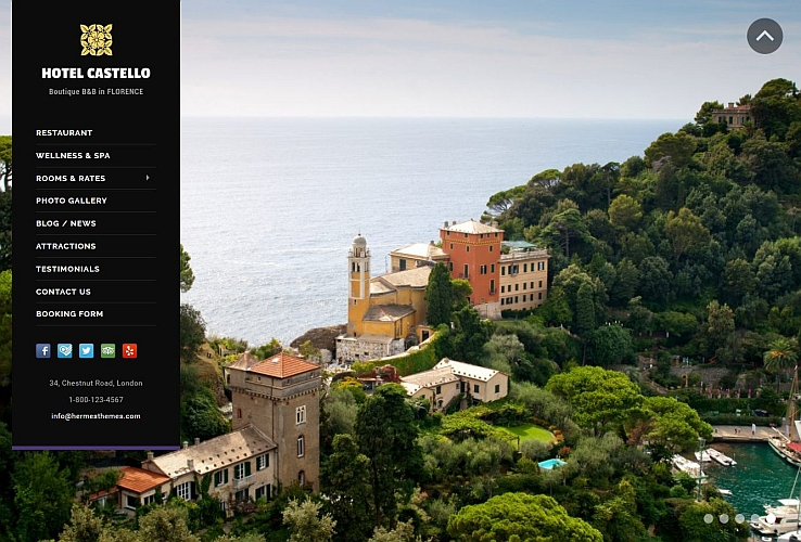 Castello WordPress Theme by Hermes Themes
