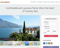HomeRent WordPress Theme by Hermes Themes