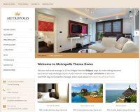 Metropolis WordPress Theme by Hermes Themes