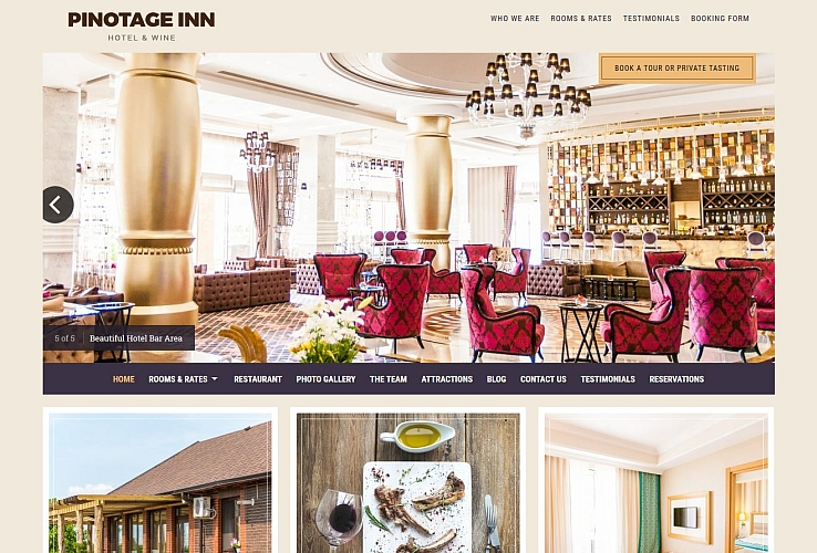 Pinotage WordPress Theme by Hermes Themes