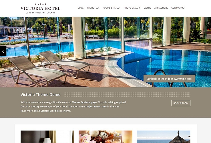 Victoria WordPress Theme by Hermes Themes