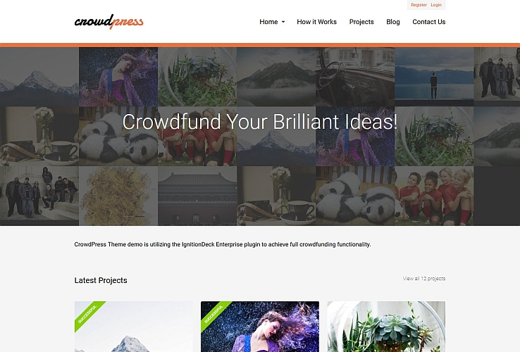 CrowdPress WordPress Theme by IgnitionDeck