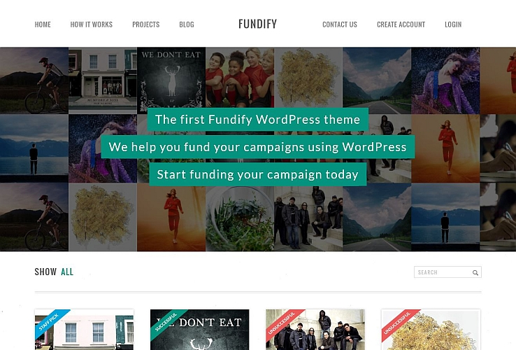Fundify WordPress Theme by IgnitionDeck