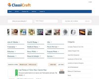 ClassiCraft WordPress Theme by InkThemes