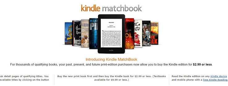 Amazon's Kindle Matchbook program is a bundle, and they're even charging a bit for it as well.