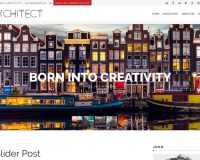Architect WordPress Theme via MOJO Marketplace