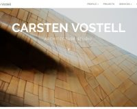 Carsten Vostell Architecture Studio WordPress Theme via MOJO Marketplace