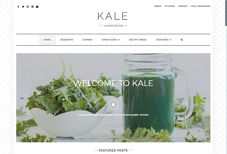 KALE PRO WordPress Theme via MOJO Marketplace