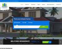 Property Finder HTML Website Template via Mojo Marketplace