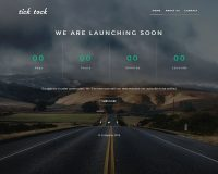 TickTock WordPress Theme via Mojo Marketplace
