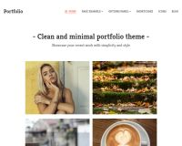 Portfolio WordPress Theme by MyThemeShop