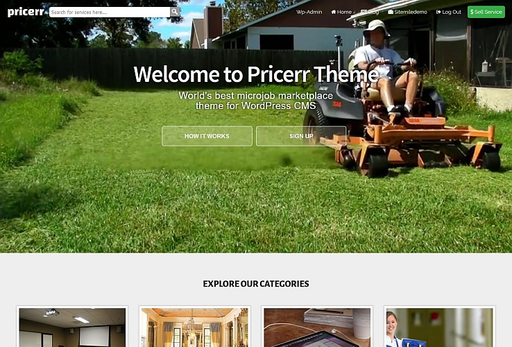 Pricerr WordPress Theme by Sitemile