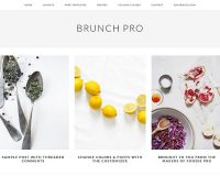 Brunch Pro Genesis Child Theme for WordPress by StudioPress